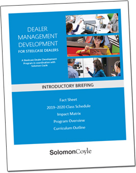 Cover of Steelcase Dealer Management Development Introductory Brief